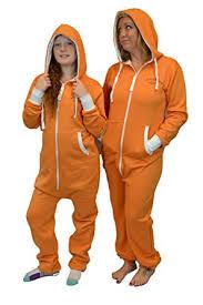 Prison Jumpsuit Amazon Com Orange Is The New Black Prison Hoodie Jumpsuit Onesie