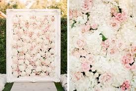Wedding Wall Decor The Hottest 2015 Wedding Trend 22 Flower Wall Backdrops