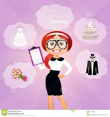 wedding planner wedding planner stock illustration image 43672722