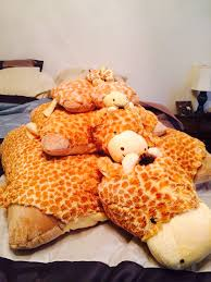 asian giraffe ring holder images Giraffe pillow pets all 4 sizes animanimals in 2018 jpg