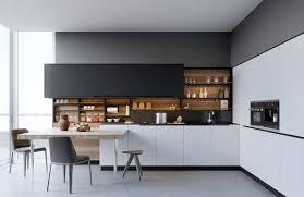 cuisine blanches aménagement cuisine blanche et bois 35 idées cool