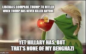 Hillary Clinton Benghazi Meme - curt schilling rips hillary on benghazi using kermit the frog