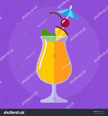 mai tai cocktail mai tai cocktail flat icon stock vector 502719157 shutterstock