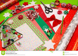 christmas craft supplies royalty free stock images image 27550689
