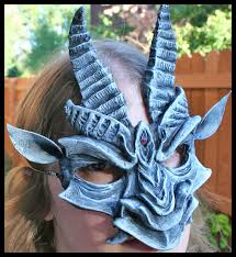 Gargoyle Costume Gargoyle Mask By Namingway On Deviantart
