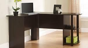 stimulating figure wooden corner desk next to writing desk with