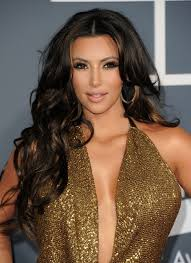 medium length hairstyles for hair parted in middle with bangs kim kardashian long hairstyles center parted hairstyles for