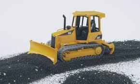 bruder excavator amazon com bruder caterpillar track type tractor toys u0026 games