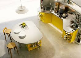 White And Yellow Kitchen Ideas - kitchen modern italian kitchen designs from snaidero modern