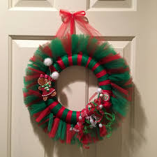 wonderful tulle wreath ideas 66 tulle christmas wreath diy picture