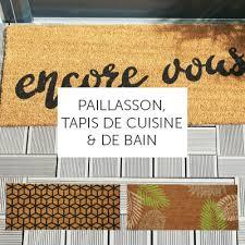 paillasson cuisine tapis d entrée paillasson et tapis de cuisine