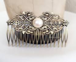 pearl hair comb pearl hair comb modern hair slide for