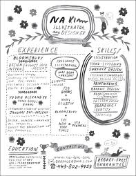 hand lettered resume love this if you u0027re in a creative