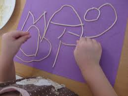 name writing paper 3 fun preschool activities using spaghetti mommysavers when