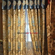 totem of roman pattern gold damask insulated thermal blackout