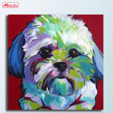 Imperial Home Decor Group Online Get Cheap Schnauzer Painting Aliexpress Com Alibaba Group