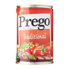 prego traditional pasta sauce 300g from redmart