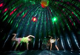 disco rental x treme party dome partytime rentals