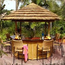 Tiki Patio Umbrella Patio Patio Tiki Bar Home Interior Decorating Ideas