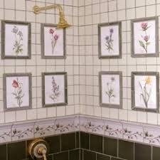 Garden Botanicals Garden Botanicals Series Ceramic Wall Tile All Tiled Up
