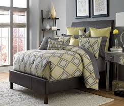 grey and yellow queen bedding comforter sets grey and yellow