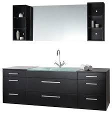 brilliant modern single bathroom vanities about interior home