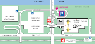 Concert Hall Floor Plan Map Of Qpac