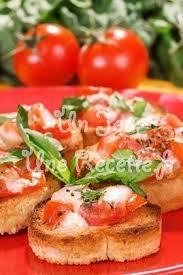 cuisiner des tomates s h s bruschetta tomates mozzarella recette facile un jour une recette