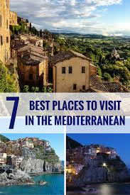 7 best places to visit in the mediterranean