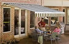 20 Ft Retractable Awning Acrylic Awnings U0026 Canopies Ebay