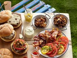 Summer Lunch Menus For Entertaining Easy Summer Cookout Menu Cooking Channel Summer Party Recipes