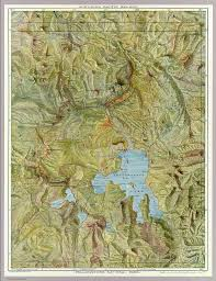 Map Of Yellowstone National Park Yellowstone National Park David Rumsey Historical Map Collection