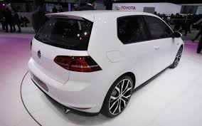 2014 volkswagen gti 2012 paris auto show motor trend