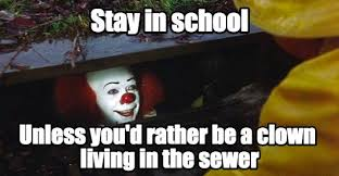 Meme School - back to school horror memes wholesale halloween costumes blog