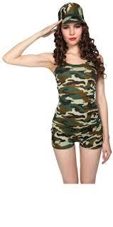 cheap female army fancy dress fashion dresses