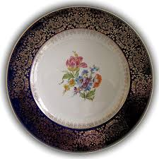 homer laughlin china virginia homer laughlin 22k gold stencilled cake plate floral sold on ruby