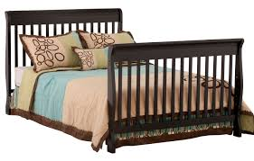 Crib That Converts To Full Bed by Stork Craft Modena 4 In 1 Fixed Side Convertible Crib Walmart Canada