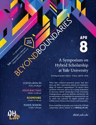 design event symposium yale dhlab beyond boundaries a symposium on hybrid scholarship at