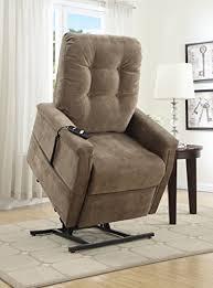 amazon com pulaski montreal coffee fabric lift chair brown
