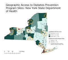 Map Of Counties In New York State by Preventing Chronic Disease Gis Snapshot Geographic Access To