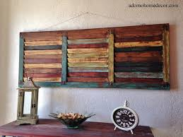 distressed wood wall decor wall design