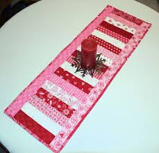 valentine s day table runner valentines day table runner quilt surrounded by love moda fabric