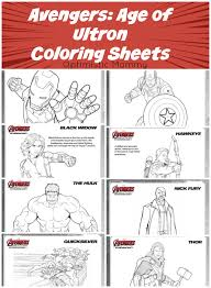 coloring pages of the avengers avengers age of ultron coloring sheets avengers ageofultron