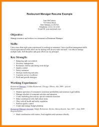 How To Make A Resume Free 11 How To Write A Resume For A Restaurant Job Riobrazil Blog