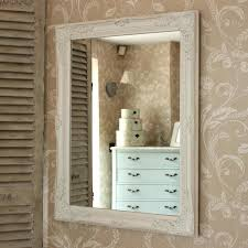 Shabby Chic Large Mirror by Wall Mirror Large White Decorative Mirror Gerona White Shabby
