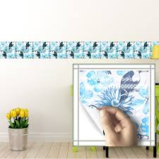 compare prices on flower tile sticker online shopping buy low