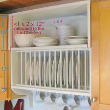 Kitchen Cabinet Dish Rack Shelves Wall Plate Shelf Rack 1 Of 27 Wall Plate Shelf Diamond