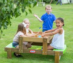 little tikes bench table 2 in 1 wooden sand and picnic table little tikes
