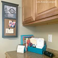 Kitchen Office by My Mini Kitchen Office U2013 Come Home For Comfort