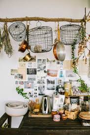 moon to moon kitchen diy branch pot hanger